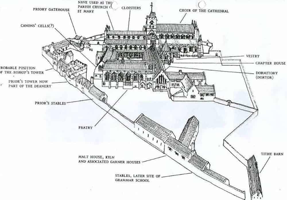 05 Historical axonometric