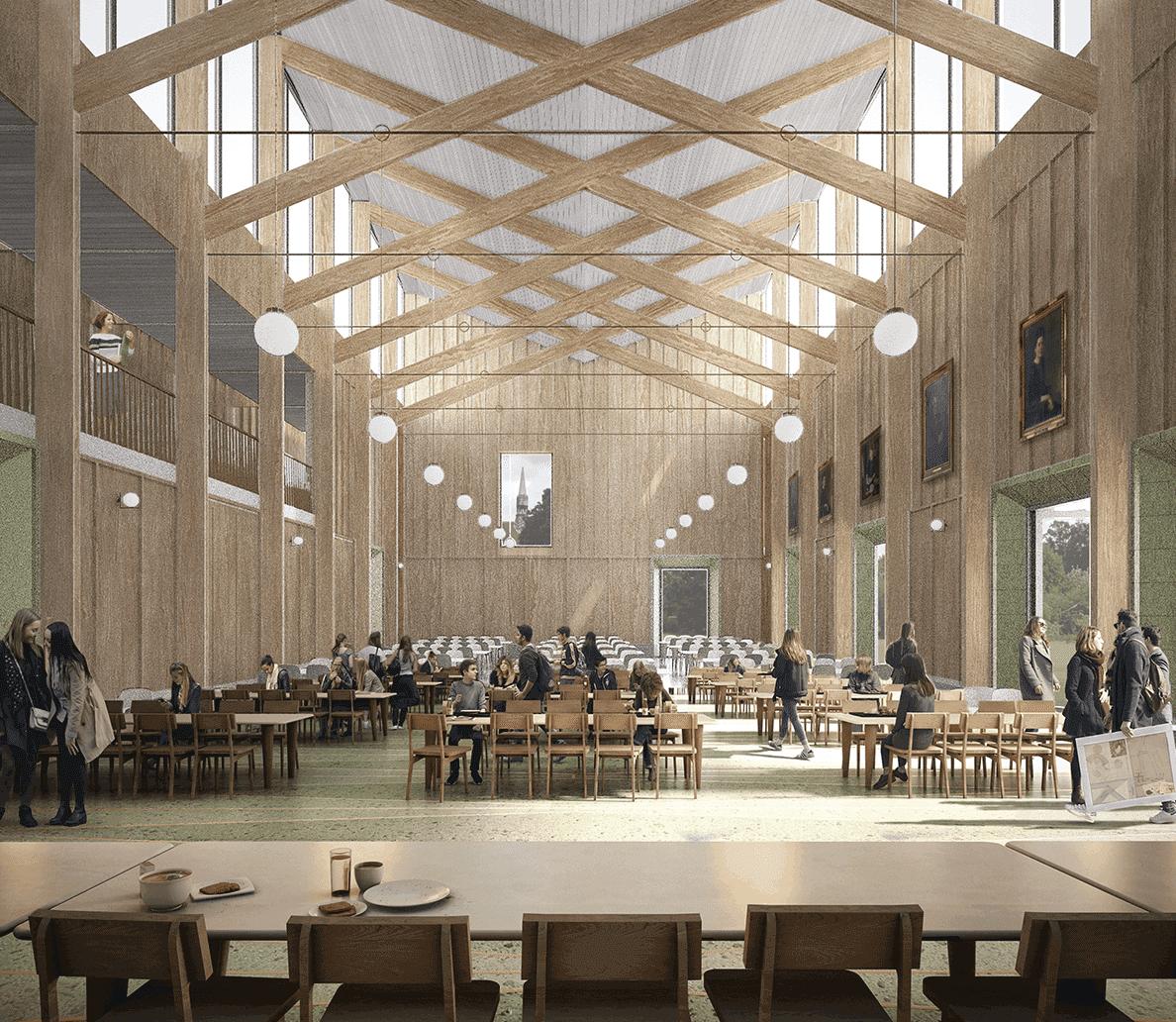 Dining Hall: Homerton Dining Hall