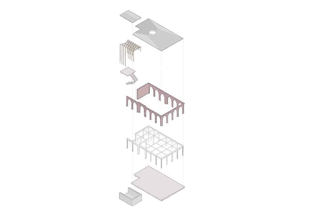 06 Exploded Axonometric